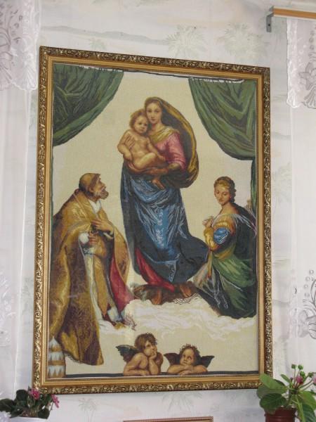 Набор вышивки крестом сикстинская мадонна