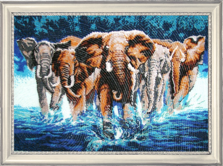 Слоны вышивка крестом наборы