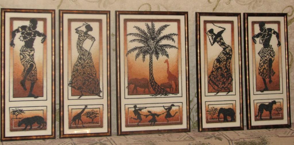 Серия вышивок золотое руно