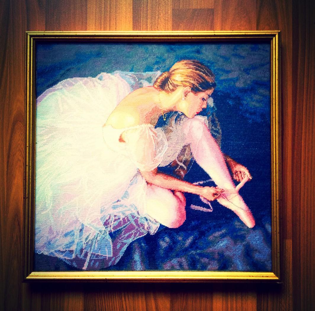 Балерина вышивка бисером фото 18